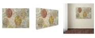 "Trademark Global Cora Niele 'Autumn Leaves' Canvas Art - 47"" x 35"" x 2"""