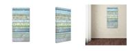 "Trademark Global Cora Niele 'Loire Valley Wines' Canvas Art - 24"" x 12"" x 2"""