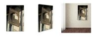 "Trademark Global Cora Niele 'Creperie Sign' Canvas Art - 47"" x 30"" x 2"""