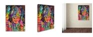 "Trademark Global Dean Russo 'Pope' Canvas Art - 32"" x 24"" x 2"""