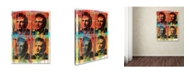 "Trademark Global Dean Russo 'Johnny' Canvas Art - 19"" x 14"" x 2"""