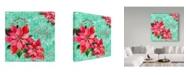 "Trademark Global Irina Trzaskos Studio 'Christmas IV' Canvas Art - 35"" x 35"" x 2"""