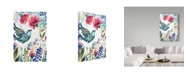 "Trademark Global Irina Trzaskos Studio 'Spring 2' Canvas Art - 24"" x 16"" x 2"""