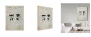 "Trademark Innovations Cole Borders 'Bimbo Fleischer Studios Cartoon Character' Canvas Art - 47"" x 35"" x 2"""