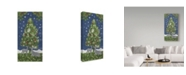 """Trademark Global Color Bakery 'Under The Pines' Canvas Art - 32"""" x 16"""" x 2"""""""