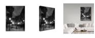 "Trademark Global Cristian Andreescu 'Tombe La Neige Ii' Canvas Art - 18"" x 2"" x 24"""