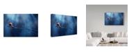 "Trademark Global Dede Almustaqim 'Beautiful Snail' Canvas Art - 19"" x 2"" x 12"""