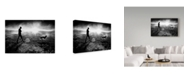 "Trademark Global Dartef Pristov 'Light And Illusion' Canvas Art - 32"" x 2"" x 22"""