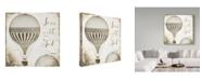 "Trademark Global Color Bakery 'Gods Balloons 1' Canvas Art - 18"" x 2"" x 18"""