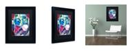 "Trademark Global DawgArt 'My Favorite Bone Reboot' Matted Framed Art - 14"" x 11"" x 0.5"""