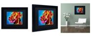 "Trademark Global DawgArt 'Viszla' Matted Framed Art - 14"" x 11"" x 0.5"""
