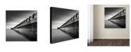 "Trademark Global Dave MacVicar 'Water Works 2' Canvas Art - 35"" x 35"" x 2"""