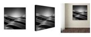 "Trademark Global Dave MacVicar 'The Urban Sea' Canvas Art - 14"" x 14"" x 2"""