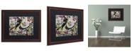 "Trademark Global Dan Monteavaro 'Apologies' Matted Framed Art - 20"" x 16"" x 0.5"""