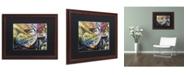 "Trademark Global Dan Monteavaro 'Coupon Stories' Matted Framed Art - 20"" x 16"" x 0.5"""