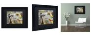 "Trademark Global Dan Monteavaro 'The Long Stretch' Matted Framed Art - 11"" x 14"" x 0.5"""