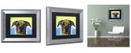 """Trademark Global Dean Russo 'Fiesta' Matted Framed Art - 14"""" x 11"""" x 0.5"""""""
