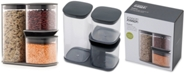 Joseph Joseph Podium 3-Pc. Stackable Storage Set with Stand