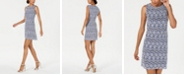 Jessica Howard Petite Sleeveless Lace Shift Dress