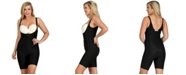Instaslim InstantRecovery MD Compression Open Bust Bodyshaper with Mid-Thigh Length, Online Only
