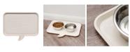"IRIS USA Medium ""Feed Me"" Feeding Mat for Dog or Cat"