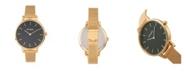 Simplify Quartz The 5800 Black Dial, Gold Alloy Watch 38mm