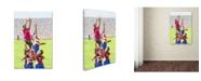 "Trademark Global The Macneil Studio 'Rugby Players' Canvas Art - 24"" x 16"" x 2"""