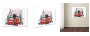 "Trademark Global The Macneil Studio 'London' Canvas Art - 47"" x 35"" x 2"""