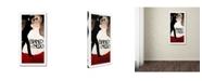 """Trademark Global Vintage Lavoie 'Ads-0041' Canvas Art - 10"""" x 19"""" x 2"""""""