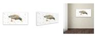 """Trademark Global Michelle Campbell 'Duck 3' Canvas Art - 47"""" x 24"""" x 2"""""""