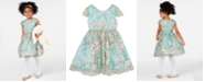 Rare Editions Toddler Girls Floral Embroidered Dress