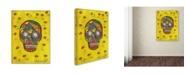 "Trademark Global Tammy Kushnir 'Skull' Canvas Art - 24"" x 18"" x 2"""