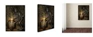 "Trademark Global Jason Limon 'Luminous Flow' Canvas Art - 24"" x 18"" x 2"""