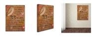 "Trademark Global Tammy Kushnir 'Be Wise' Canvas Art - 32"" x 24"" x 2"""