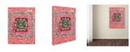 """Trademark Global Miguel Balbas 'Maze 4' Canvas Art - 47"""" x 35"""" x 2"""""""