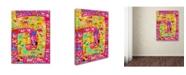 "Trademark Global Miguel Balbas 'Animal Kingdom 2' Canvas Art - 24"" x 18"" x 2"""