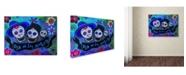 "Trademark Global Prisarts 'Amando Familia' Canvas Art - 47"" x 35"" x 2"""