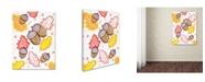 "Trademark Global Valarie Wade 'Acorn Rain' Canvas Art - 32"" x 24"" x 2"""