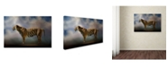 "Trademark Global Jai Johnson 'Waiting In The Light' Canvas Art - 24"" x 16"" x 2"""