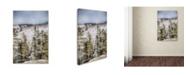 "Trademark Global Jai Johnson 'Winter Impressions In Colorado 3' Canvas Art - 32"" x 22"" x 2"""