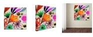 "Trademark Global Sylvie Demers 'Wild Life' Canvas Art - 24"" x 24"" x 2"""