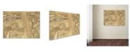 """Trademark Global Jan Toorop 'Desire And Satisfaction' Canvas Art - 19"""" x 14"""" x 2"""""""