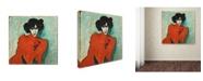 "Trademark Global Jawlensky 'Portrait Of A Dancer' Canvas Art - 24"" x 24"" x 2"""