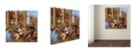 "Trademark Global Nicolas Poussin 'The Adoration Of The Magi' Canvas Art - 24"" x 24"" x 2"""