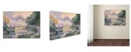 "Trademark Innovations Paul Signac 'The Tugboat' Canvas Art - 24"" x 18"" x 2"""