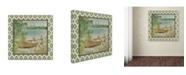 "Trademark Global Jean Plout 'Wilderness Lodge Q2 B' Canvas Art - 18"" x 18"" x 2"""