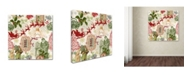 """Trademark Global Jean Plout 'Christmas Folklore 4' Canvas Art - 24"""" x 24"""" x 2"""""""