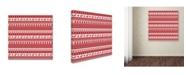 "Trademark Global Jean Plout 'Alpine Christmas 1' Canvas Art - 24"" x 24"" x 2"""