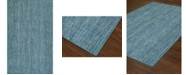 "D Style Cozy Weave Cwv100 Denim 3'6"" x 5'6"" Area Rug"