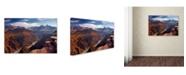 "Trademark Global Mike Jones Photo 'Plateau Point' Canvas Art - 19"" x 12"" x 2"""